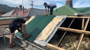 Roof leak repair company Armadale