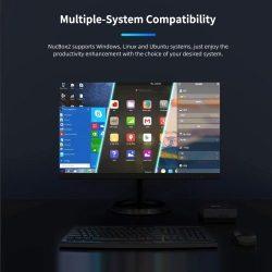 GMK KB2 Mini PC Intel Espresso Lake i5-8259U CPU Intel Iris Plus Graphics 655 GPU 8GB+256GB Reminiscence Twin-band WiFi BT4.2 US Plug
