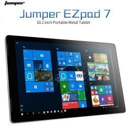 Jumper EZpad 7 10.1 inch Transportable Metallic Pill with Intel Atom X5 Z8350 Processor 4GB+128GB Reminiscence 1920*1200 IPS Display