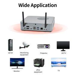 T-bao MN48H Mini PC with AMD R7 4800H Processor AMD Radeon Graphics GPU 16GB+256GB Reminiscence Home windows 10 Working System US Plug